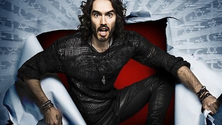 Comedian Russell Brand returns to the Ipswich Regent on June 8 with new tour Re:Birth, as well as ad