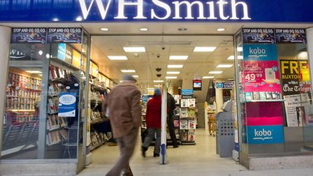Like-for-like sales at WH Smith's high street stores have fallen by 3%, a performance described by t
