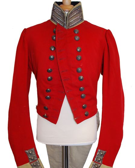 West Essex Militia coatee from about 1830