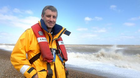 Lee Firman became the RNLI's youngest staff coxwain in 2009