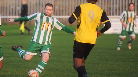 Whitton United assistant manager Robbie Knott