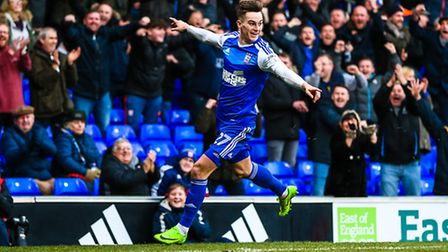 Tom Lawrence has been red hot for Ipswich. Photo: STEVE WALLER