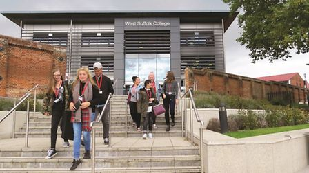 West Suffolk College, which has been named as a finalist in the Apprenticeships4England Awards