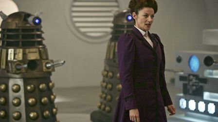 Michelle Gomez as Missy - the famle incarnation of The Master, proving that Time Lords can change se
