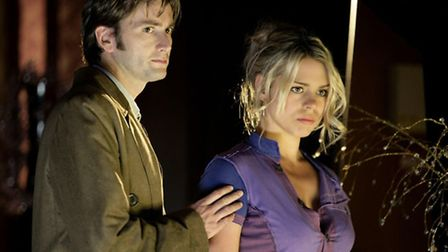 Billie Piper and David Tennant in Doctor Who. Billie Piper has said that the timer has come for the