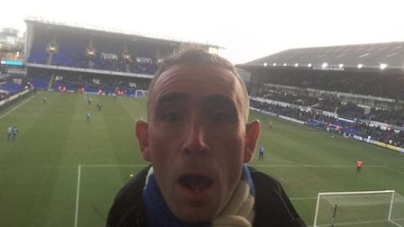 Justin Potter (@jpitfc83) sent us this post-match reaction face after the 2-2 draw with Reading