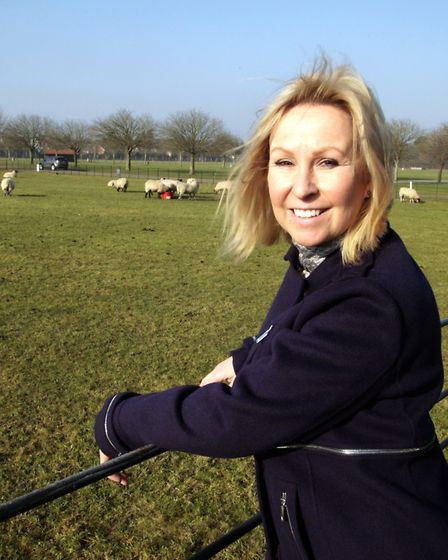 Bee Kemball, who is in her first of three years as Suffolk Show director. Picture: NIGEL BROWN