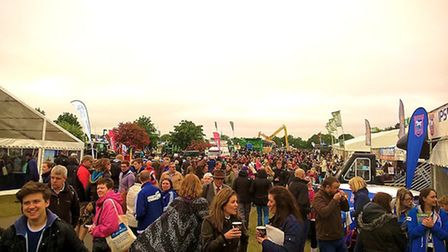 The crowd at the Suffolk Show last year. Picture: ARTIST REMRAF