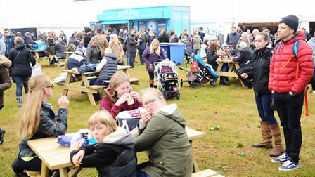 Day one at the food hall area of the Suffolk Show 2016. Picture: LUCY TAYLOR