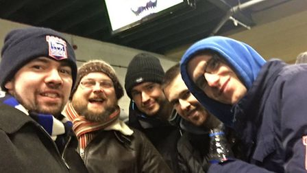 @deanolatino set us this picture from the trip to Aston Villa last week