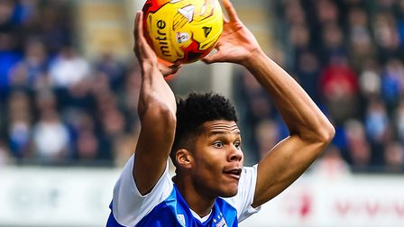 Jordan Spence joined Ipswich Town on a short-term deal in January 2017