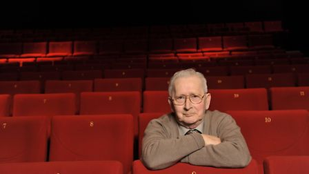 Neville Parry was thought to have been the world's oldest working cinema projectionist. Picture: SAR