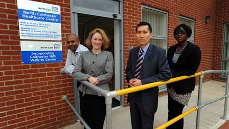 The opening of the NHS Walk-In Centre on Turner Road, Colchester, in 2009. Photo: Archant