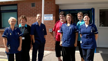 The opening of the new Minor Injuries Unit at Clacton Hospital in 2008. Photo: Archant