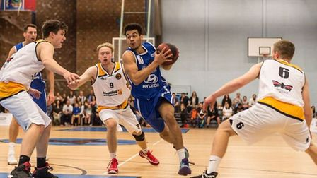 Luke Mascall-Wright was in spectacular form