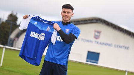 Ipswich Town signed Kieffer Moore from Forest Green Rovers. Photo: Gregg Brown