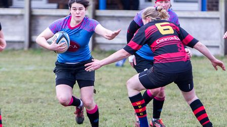 Beth Clapson finds a way through for Woodbridge Amazons