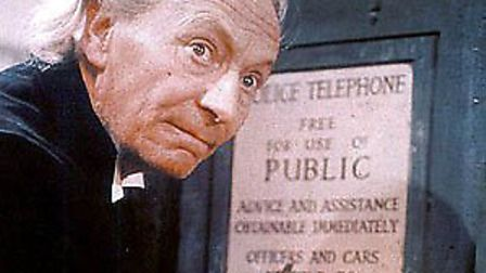 William Hartnell, the first Doctor Who.