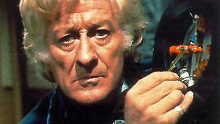 Jon Pertwee, the third Doctor Who.