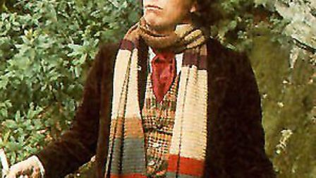 Tom Baker, the fourth Doctor Who.