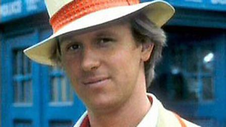 Peter Davison, the fifth Doctor Who