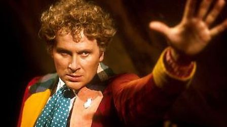 Colin Baker, the sixth Doctor Who.