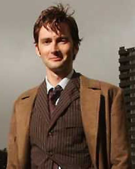 David Tennant, the tenth Doctor Who.
