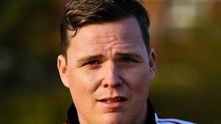 Brightlingsea manager James Webster, not getting carried away despite his side's win against leaders