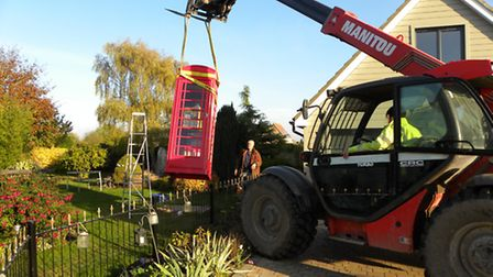 Transporting the phone box