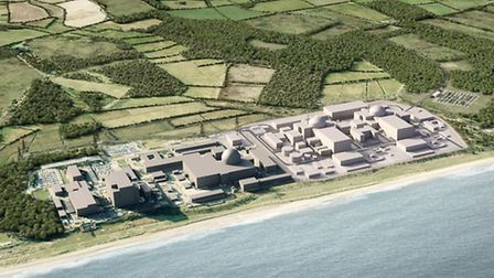 A computer generated image of how Sizewell C will look - but why does it have to be so large?