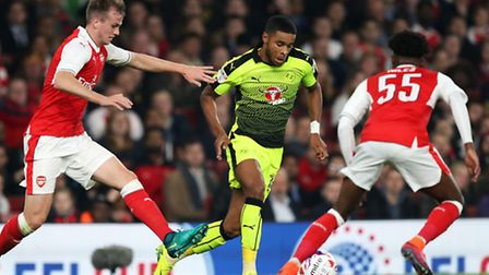 Reading's Dominic Samuel has been linked to Town