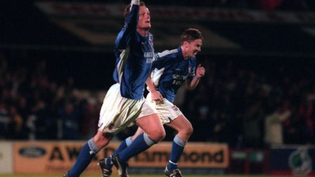 29 - Jim Magilton's wonderful goal in the play-offs against Bolton in 2000 will live long in the mem