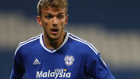 Cardiff City's Emyr Huws has joined Ipswich Town on loan