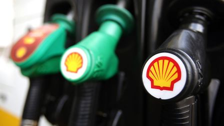 Annual profits have fallen at Shell. Photo: Yui Mok/PA Wire