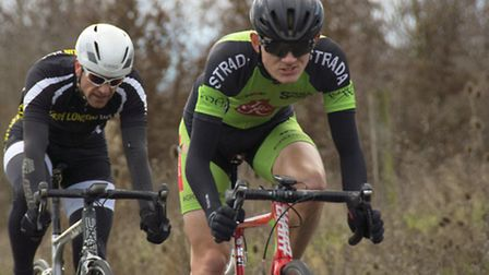 Tommy Power (Strada Sport) on his way to winning at Hog Hill on Sunday