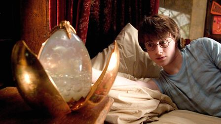 Harry Potter in The Goblet of Fire.