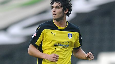 Will Packwood on his only appearance for the U's, which ended prematurely with a red card in a 6-0 d