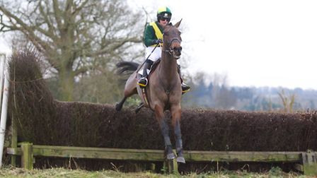 Gina Andrews won two races at Horseheath