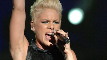 Pink has been named as one of the headliners for V Festival. Picture: Ian West/PA