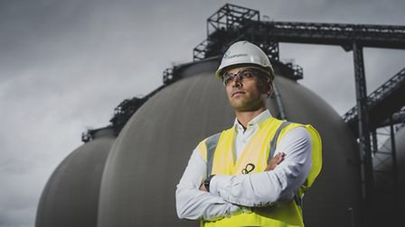 Jonathan Kini, chief executive of Drax Retail, which includes Ipswich-based Haven Power, at Drax Pow