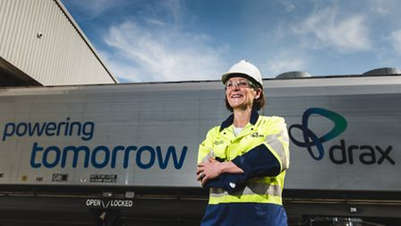 Dorothy Thompson, Drax Group chief executive. Picture: DRAX GROUP