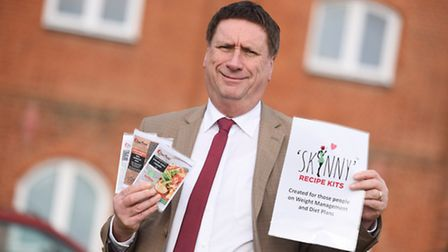 Ian Bacon, owner of Easy Peasy Cooking, which produces the 'Skinny Recipe Kits' range for people try