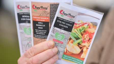 Some of the Skinny Recipe Kits range produced by Easy Peasy Cooking. Picture: GREGG BROWN