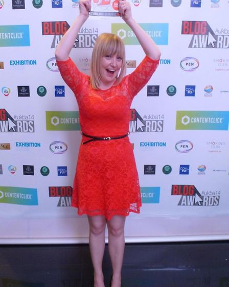 Cassiefairy was Highly Commended for her retail and fashion blog at the National Blog Awards 2014