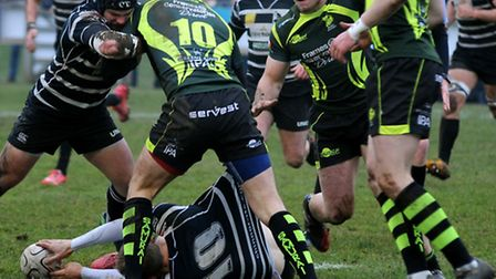 Chinnor were too powerful for Bury
