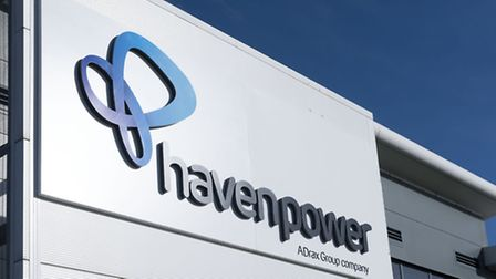 The Ipswich headquarters of Haven Power, part of the Drax group