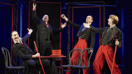 Showstopper! The Improvised Musical the Olivier-winning comedy is staging both an evening version an