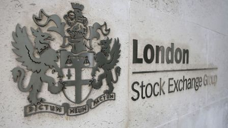 A sign outside the London Stock Exchange Group in the City of London. Picture: Philip Toscano/PA W