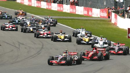 Formula One. Can be thrilling, but are the cars too fast now?
