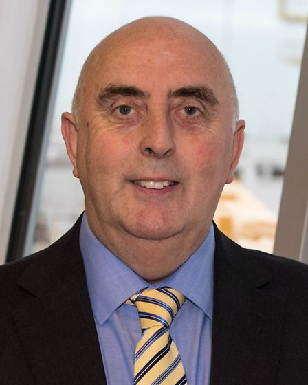 Harwich Haven Authority chief executive Neil Glendinning